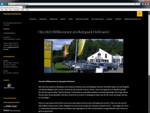 Autopark Hofmann Leesten