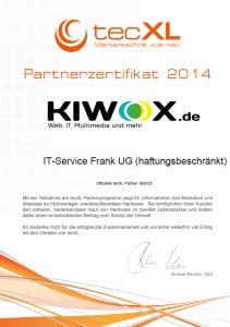 tecXL Zertifikat2